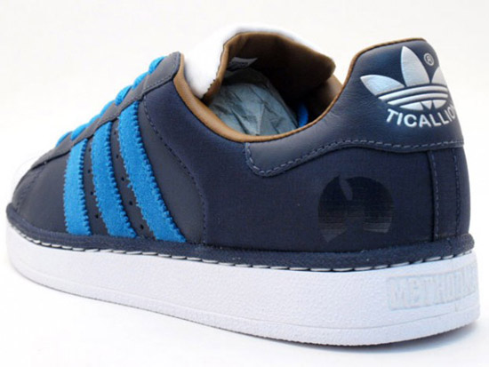 Women Originals Adidas S75072 Superstar rise casual shoes blue white