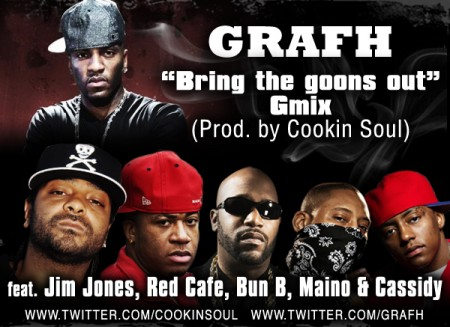 """Grafh feat. Jim Jones, Red Cafe, Bun B, Maino & Cassidy """"Bring The Goons Out"""" (Remix)"""