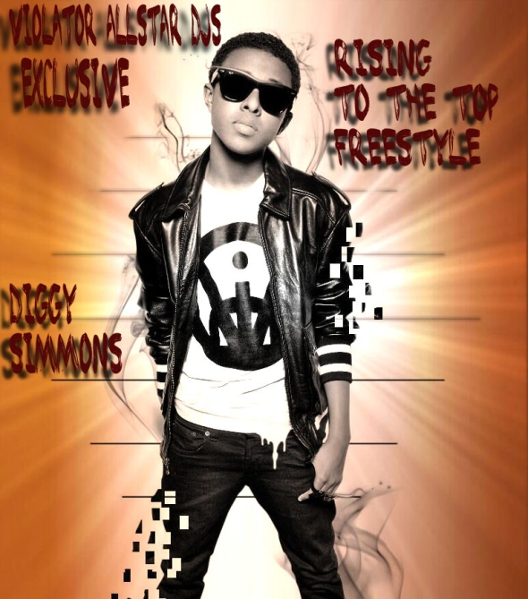 """Diggy Simmons """"Rising to the top"""" (Freestyle) feat Uncle Murda"""