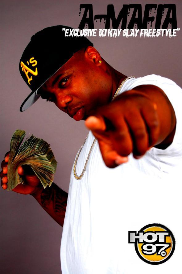 "A-Mafia ""DJ Kay Slay Freestyle"""