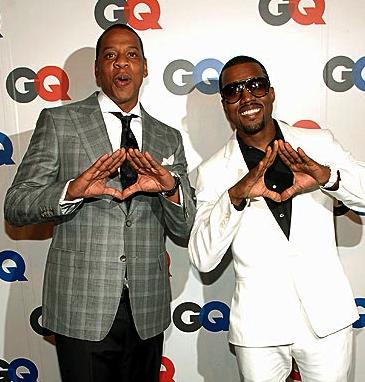 "Kanye West & Jay-Z ft. Elly Jackson of La Roux ""That's My Bitch"""