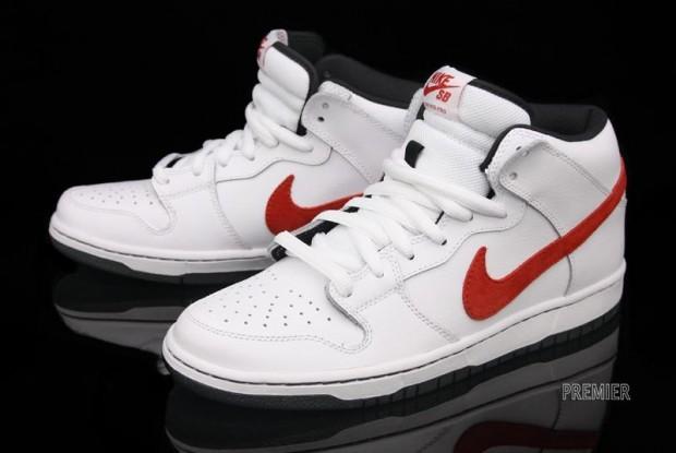 separation shoes d0369 82b47 NikeHead : NIKE SB DUNK MID PRO WHITE/RED