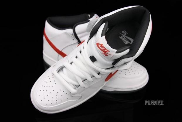 Nike Sb Dunk Mid Rosso Pro iGCtDkcEmD
