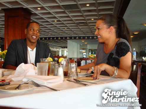 Jay-Z interview with Angie Martinez on HOT97