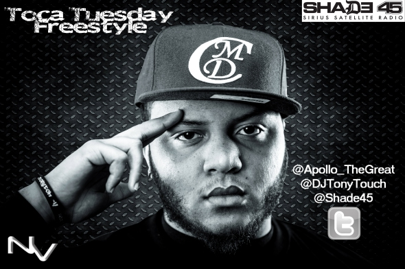 "Apollo The Great ""Toca Tuesday"" Freestyle on Shade 45"