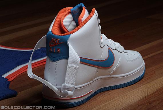 timeless design af7c3 d2dd5 Nike Air Force 1 High   Rasheed Wallace Knicks Home PE
