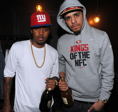 "J. Cole ft. Nas ""Made Nas Proud"" (Let Nas Down : Remix) MP3"