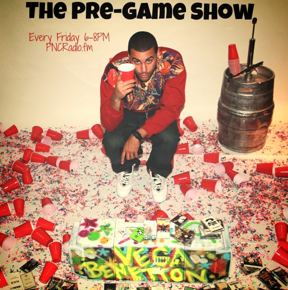 The Pre-Game Show Flyer 1(BT)