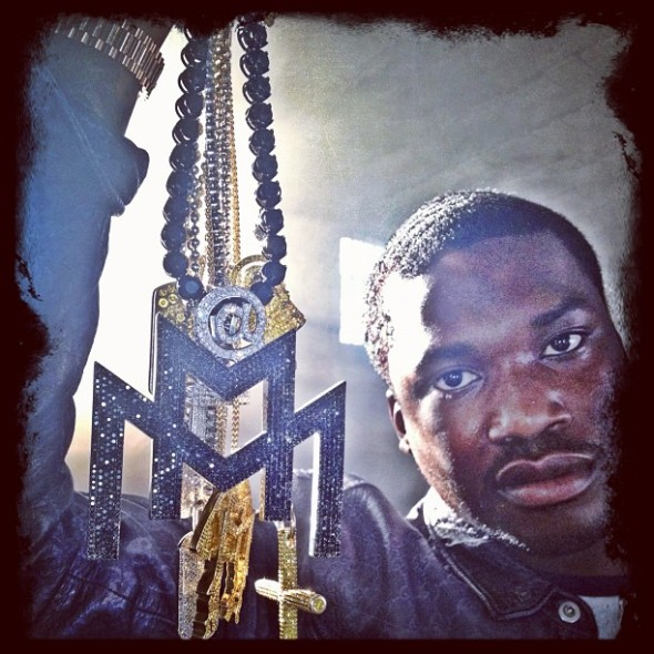 meek-mill-black-diamonds-double-m-chain