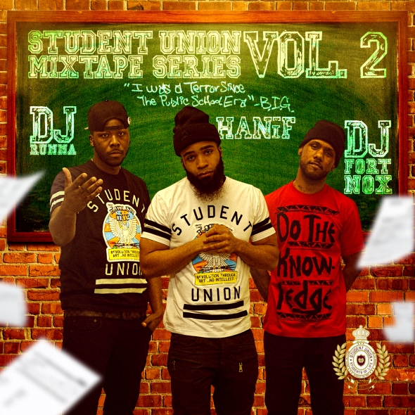 Student Union Mixtape Series Vol. 2 (Front Cover)
